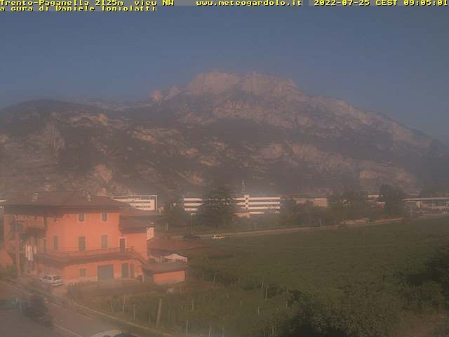 webcam meteogardolo